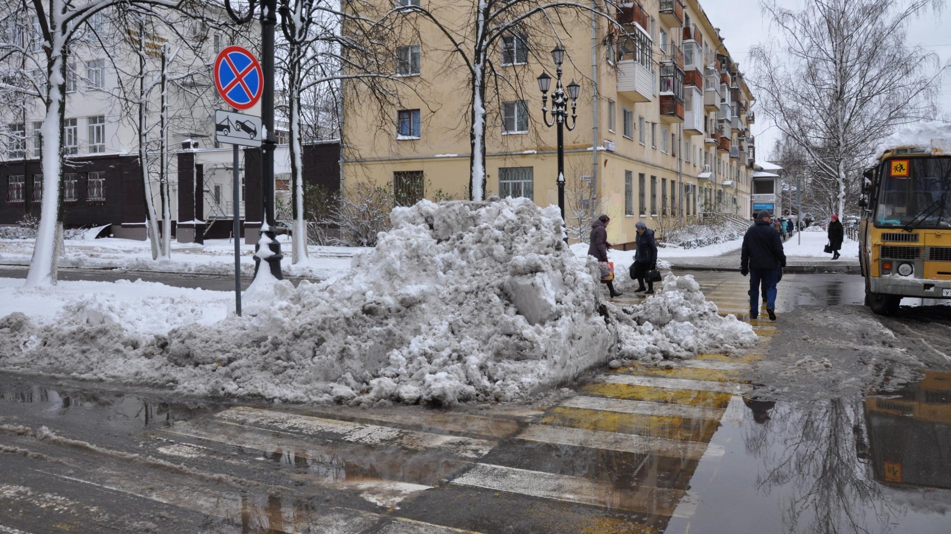 ВВологде подрядчика оштрафуют заплохую уборку снега