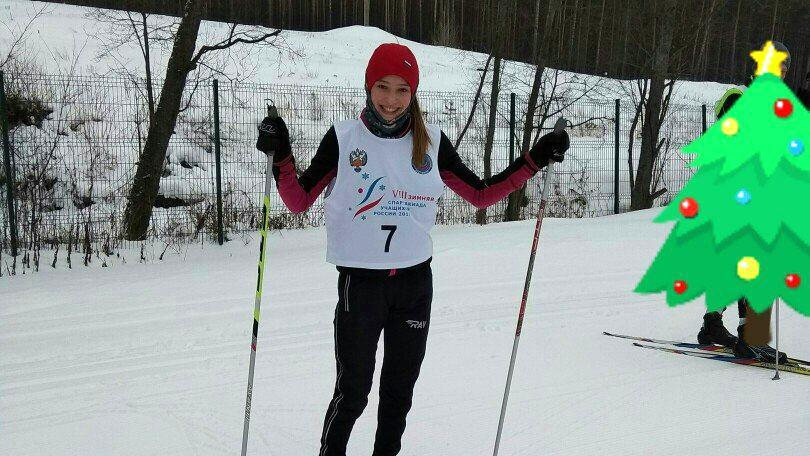 Юная лыжница из Красноярского края победила в конкурсе биатлониста Максима Цветкова