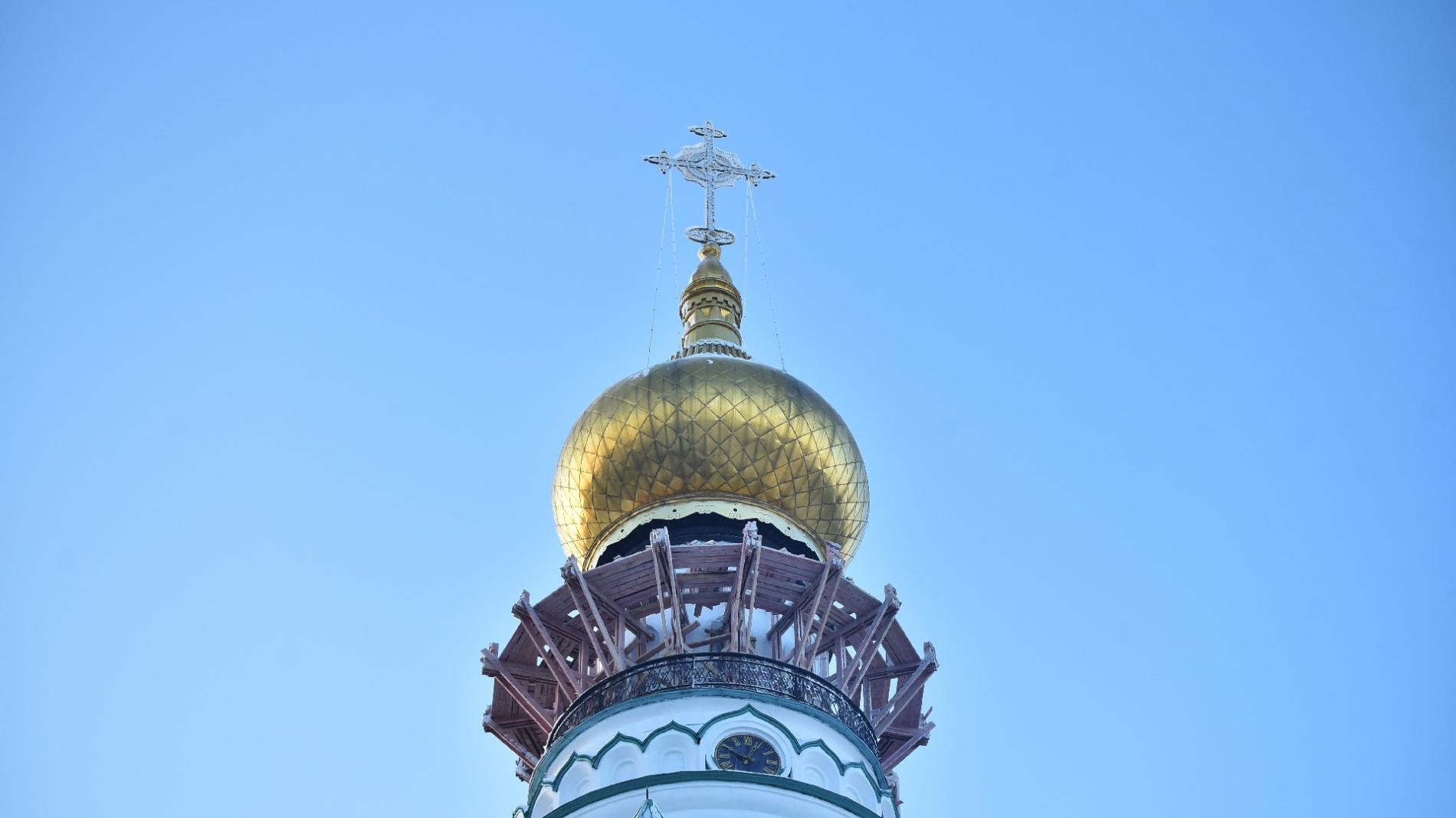 Колокольню Вологодского кремля продолжат реставрировать в 2019 году