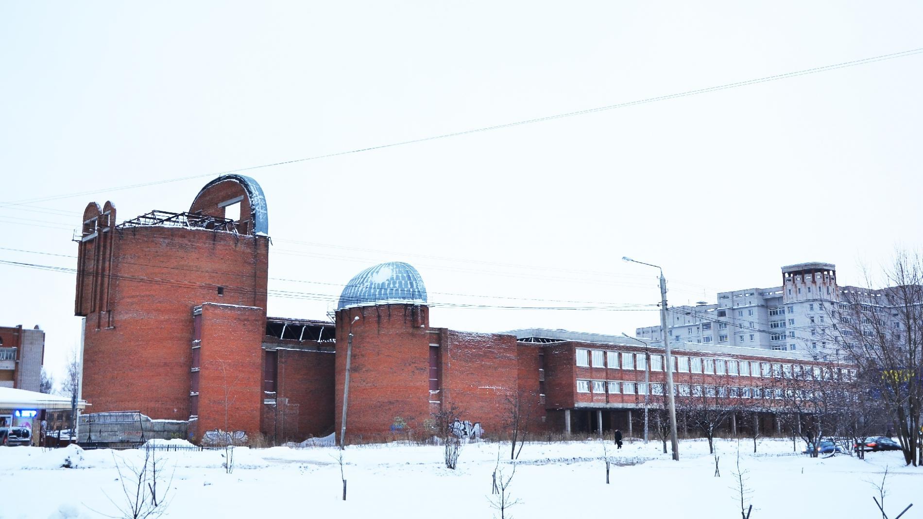 Недостроенное строение наКонева ушло смолотка за85 млн руб.
