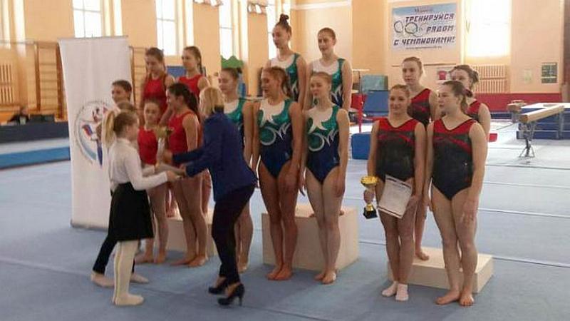 Бронзу завоевали вологодские гимнастки на зональном чемпионате