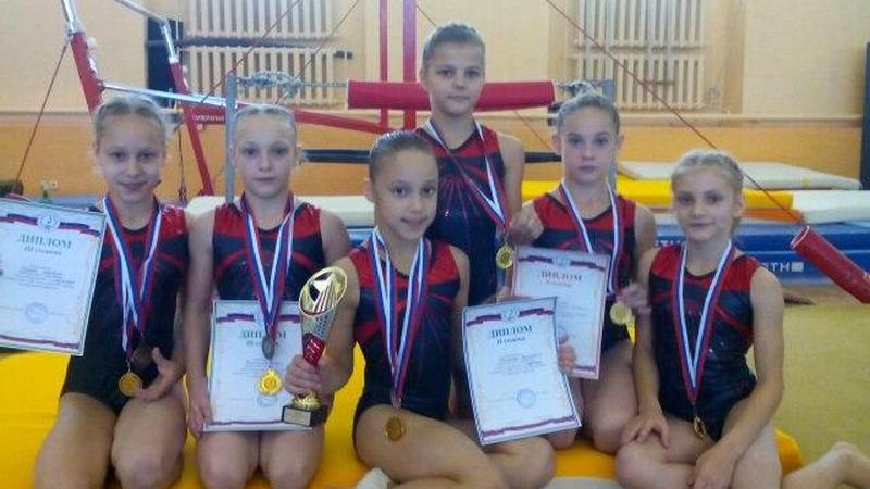Гимнастки из Вологды стали чемпионками Северо-Запада