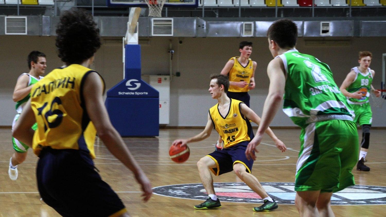 Вологодские баскетболисты вышли в финал первенства ДЮБЛ