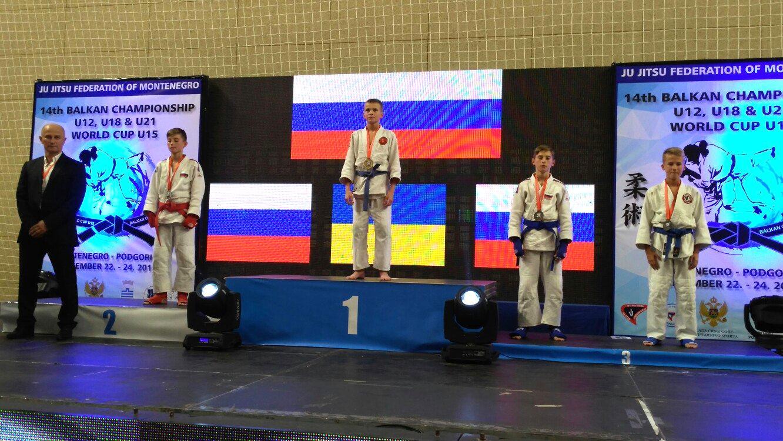 Борец изКонаково завоевал «золото» юношеского главенства мира поджиу-джитсу