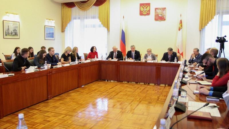 Защиту государственного суверенитета обсудили вМолодежном парламенте Вологодской области