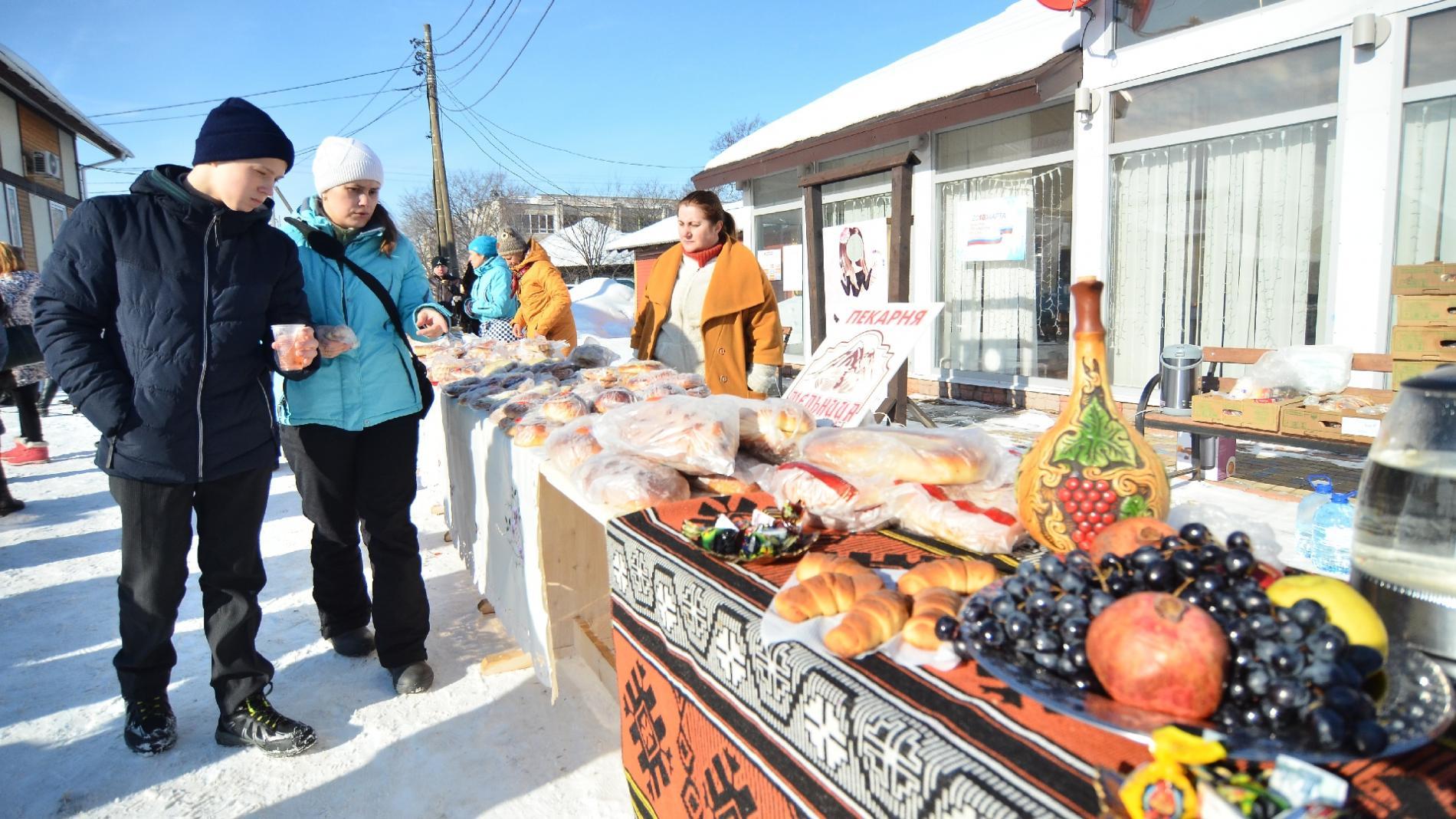 «Вологда хлебосольная» угощала сегодня национальными блюдами и творческими изысками