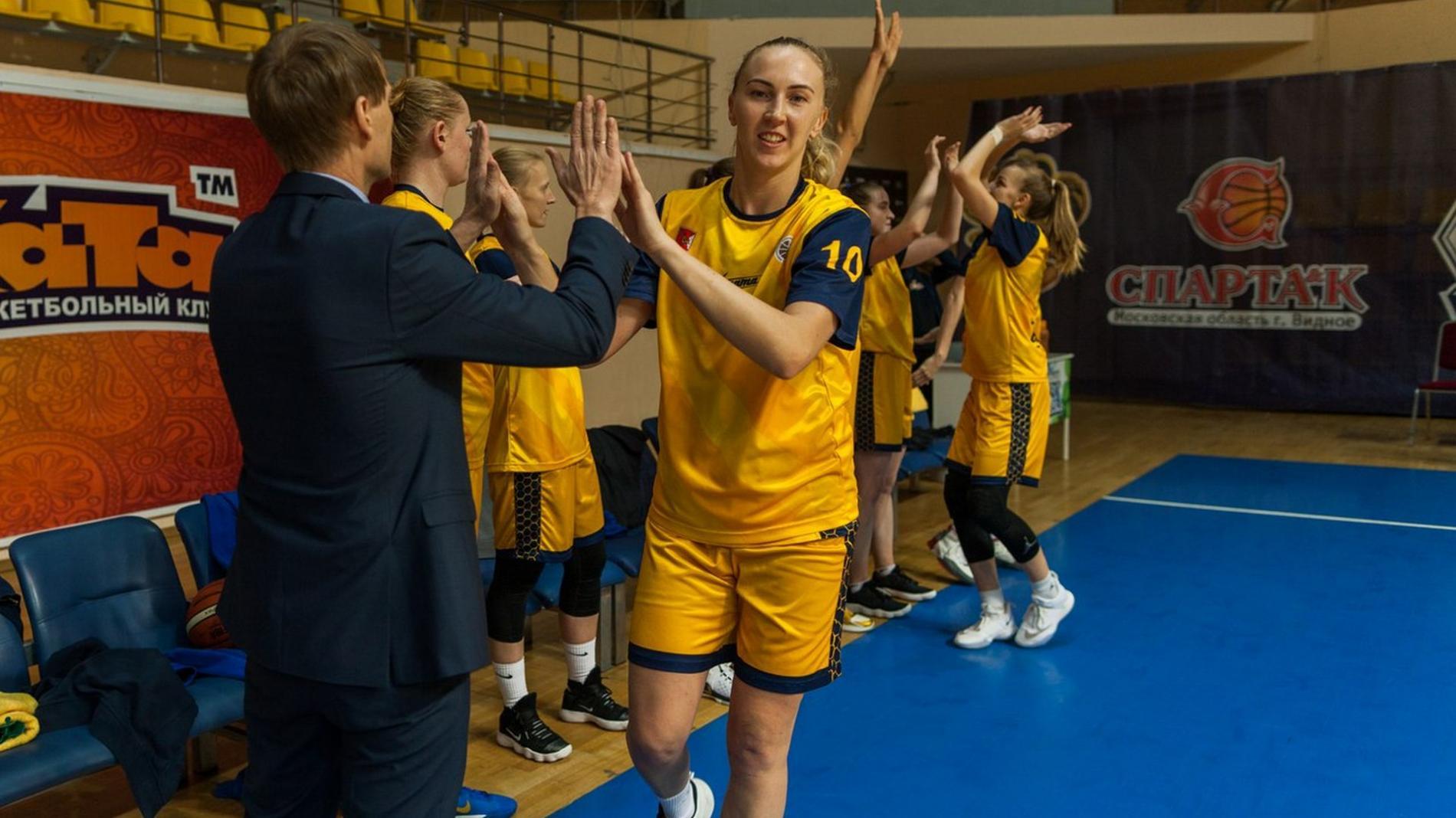 Вологодские баскетболистки разгромили соперниц изКрасноярска— Сильная команда