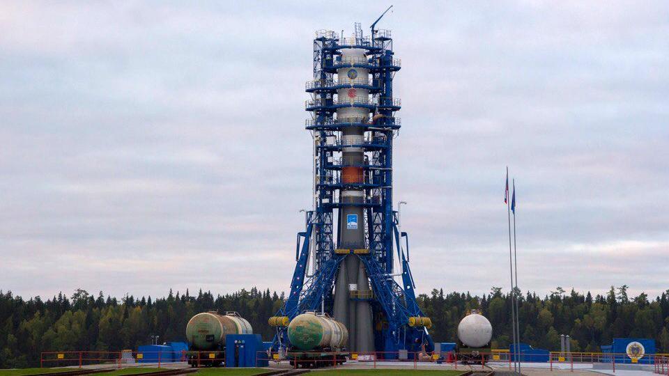Вкосмос запустили ракету ссимволом Вологодской области