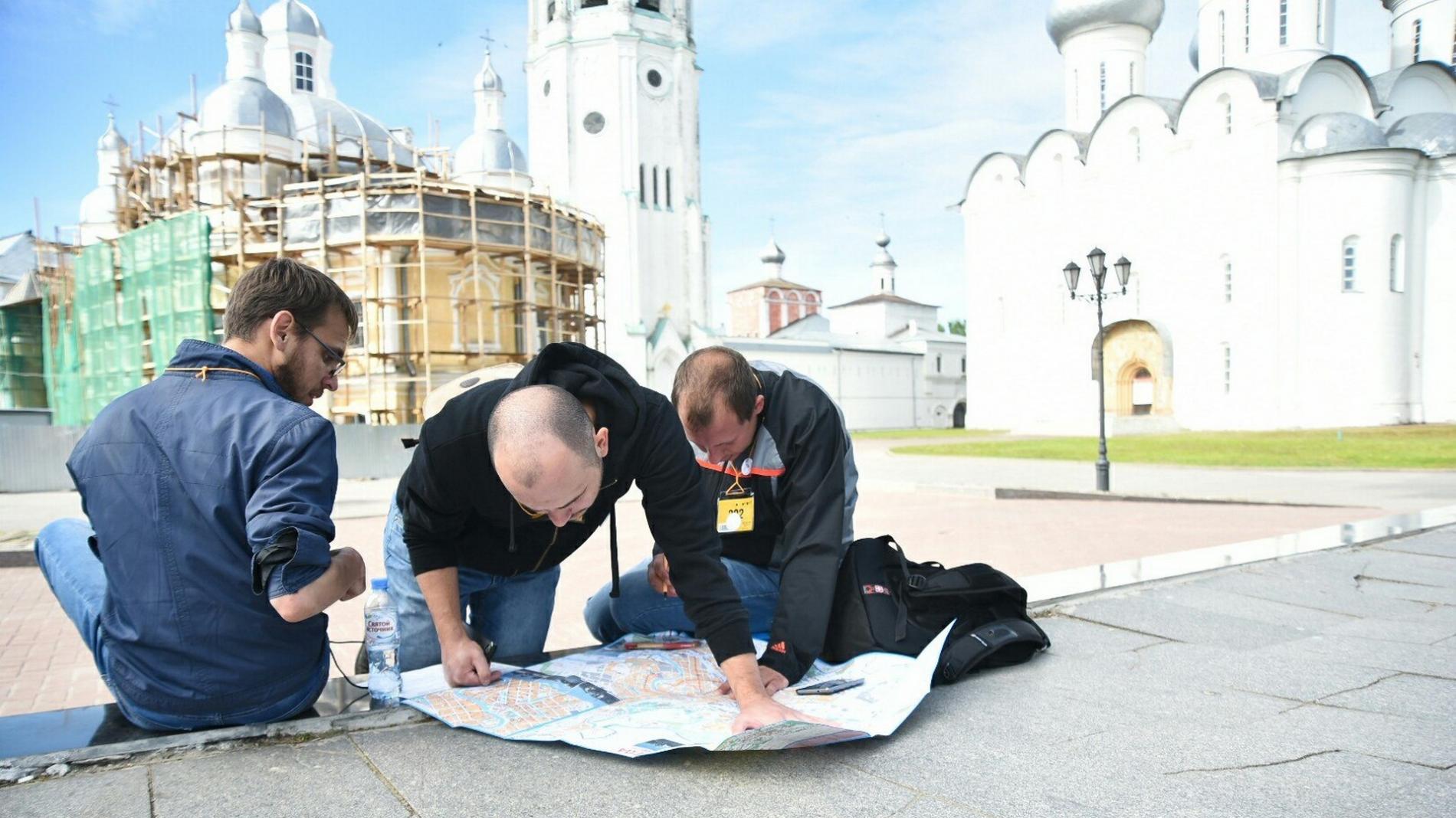 Более 300 команд приняли участие в международном квесте в Вологде