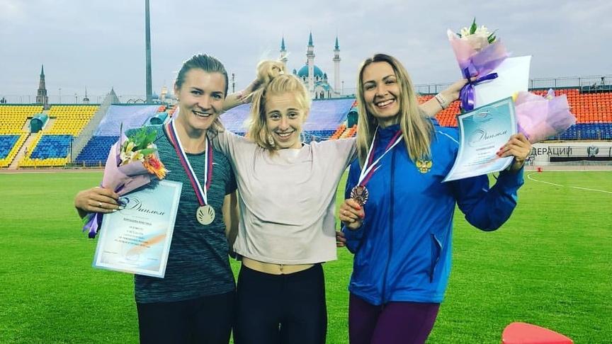Вологодская легкоатлетка взяла две медали Чемпионата Российской Федерации