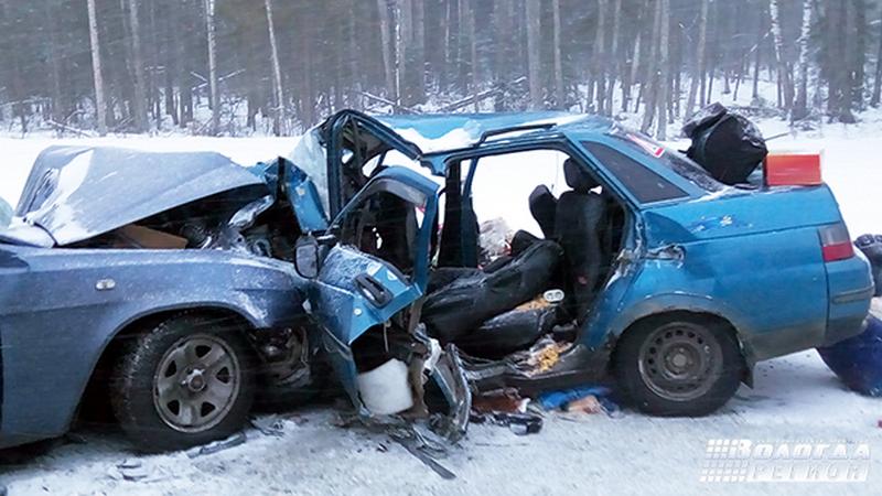 4 человека погибли вДТП вВологодской области