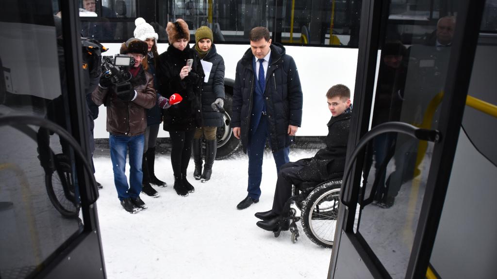 Наулицы Вологды выйдут 10 новых автобусов нагазомоторном горючем